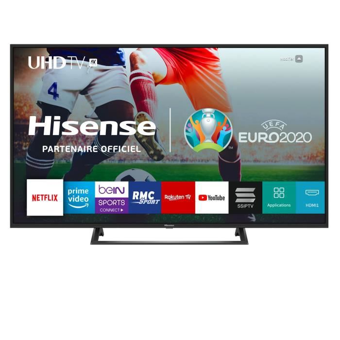 """Plus de détails HISENSE H65BE7200 TV UHD 4K - 65"""" (164cm) - HDR 10+ - Dolby Digital Plus - Smart TV - 3xHDMI -"""