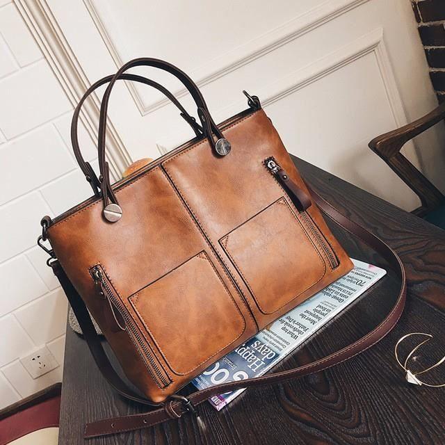 sac à main femme Designer femmes célèbre double poche Sacs fourre-tout Casual -714