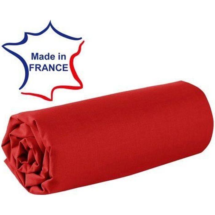 drap housse de lit 80 x 200 Drap housse 80x200 cm 100% coton 57/fils France…   Achat / Vente  drap housse de lit 80 x 200