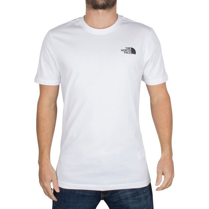 3fba55f800 T-shirt The north face Homme - Achat / Vente T-shirt The north face ...