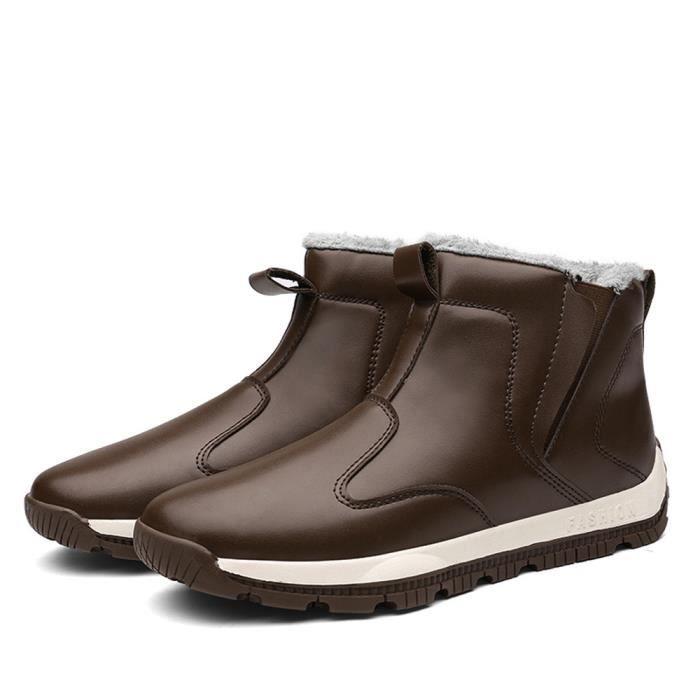 Hommes Sneaker Marque De Luxe Chaussures Chaussures de doublure en laine Respirant Chaussure Pour Homme Grande Taille
