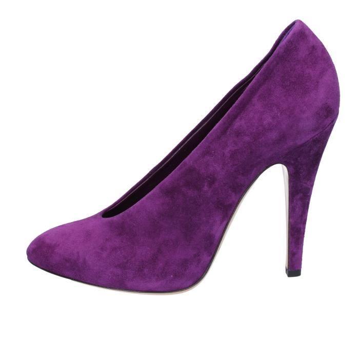magasin d'usine 72cb2 c430a Escarpin Femme CASADEI Daim Violet