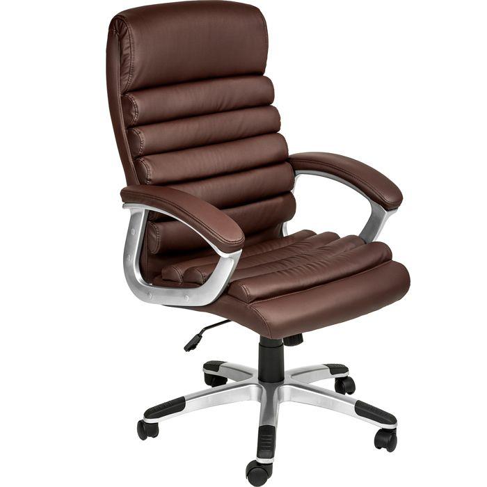 fauteuil de bureau marron achat vente fauteuil de bureau marron pas cher soldes d s le 10. Black Bedroom Furniture Sets. Home Design Ideas