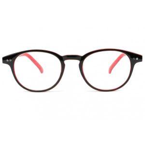 39772b7a717db5 ... LUNETTES DE LECTURE Lunette lecture ronde rouge et noir Lyka - Rouge ...