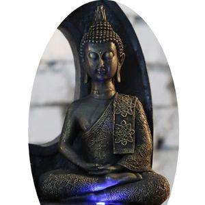 STATUE - STATUETTE ZEN Statuette Bouddha Thai - 21 x 13 x 7 cm - Marr