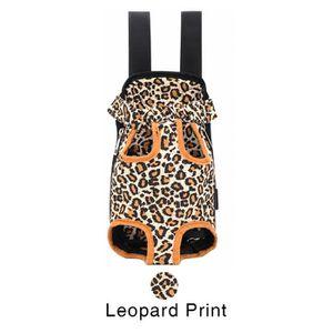 HARNAIS SPORT DE CHIEN Imprimé léopard,Sac à dos chien léopard sac de tra