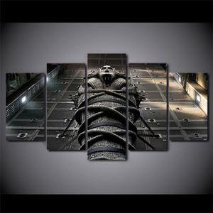 TABLEAU - TOILE Toile peintures imprimées 5 pièces Egypte culture