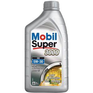 HUILE MOTEUR MOBIL Huile moteur Essence Diesel Super 3000 XE -