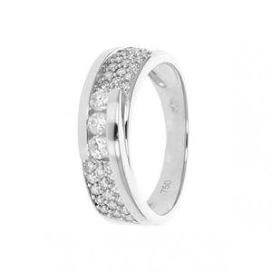 BAGUE - ANNEAU Bague Or  Diamant:0.50 Ct