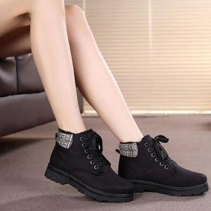 BOTTE HUIXIN®les bottes étanches pour femmes hiver chaud