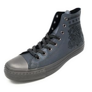 the latest ddf48 60a7f CONVERSE Women s Ctas Chuck Taylor All Star Hi Special Unique Collection  Leather (8.5, Gunmetal