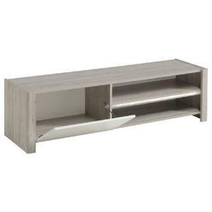 meuble tv 150 cm achat vente meuble tv 150 cm pas cher cdiscount. Black Bedroom Furniture Sets. Home Design Ideas