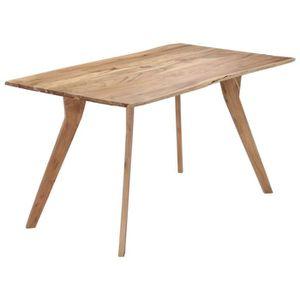 TABLE À MANGER SEULE vidaXL Table de salle à manger 140x80x76 cm Bois d