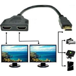 CÂBLE AUDIO VIDÉO 1080p HDMI Câble Adapteur Convertisseur Porte Mâle