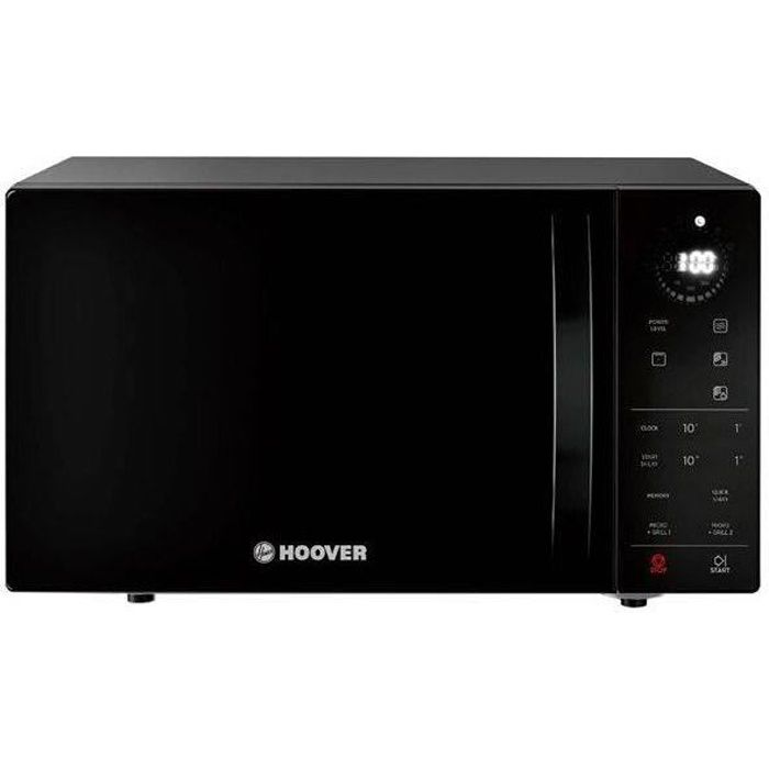 HOOVER HMG25STB - Micro-ondes Grill - Noir - 900W - Grill 1000W - Pose Libre