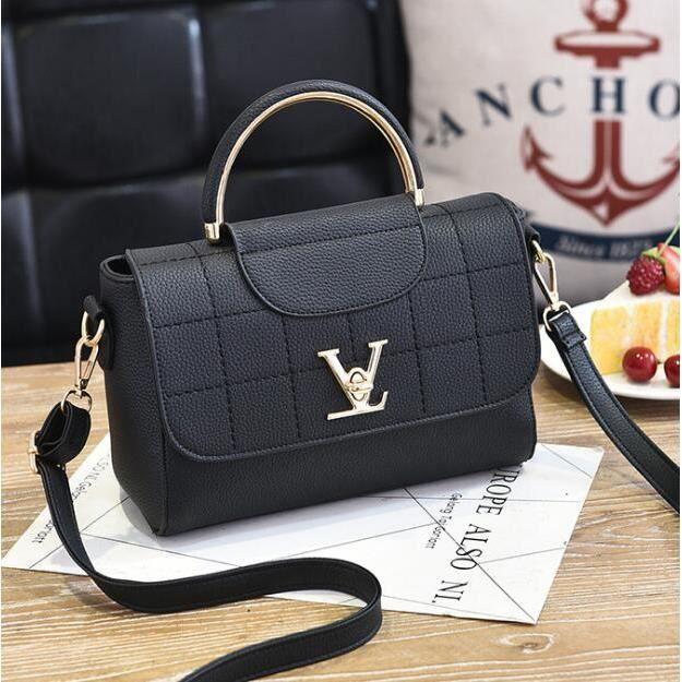060face830 petit sac a main femme Luxury brand Sac Marque De Luxe Femme Cuir New  Arrival 2017 Haut qualité sac à main femme de marque noir