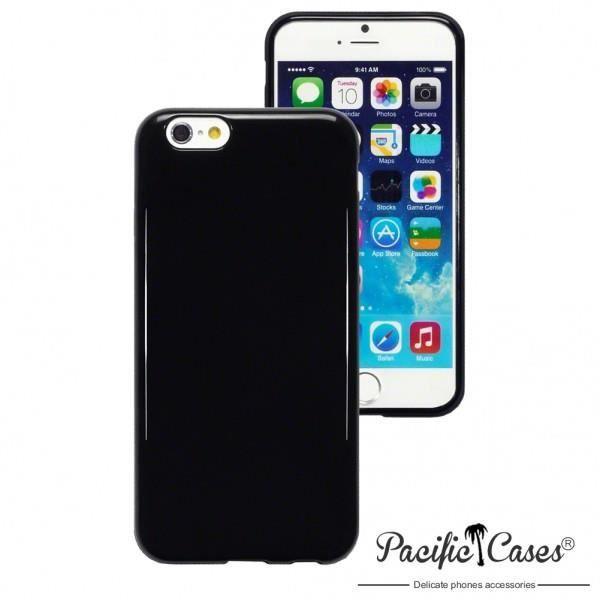 coque gel noir iphone 6