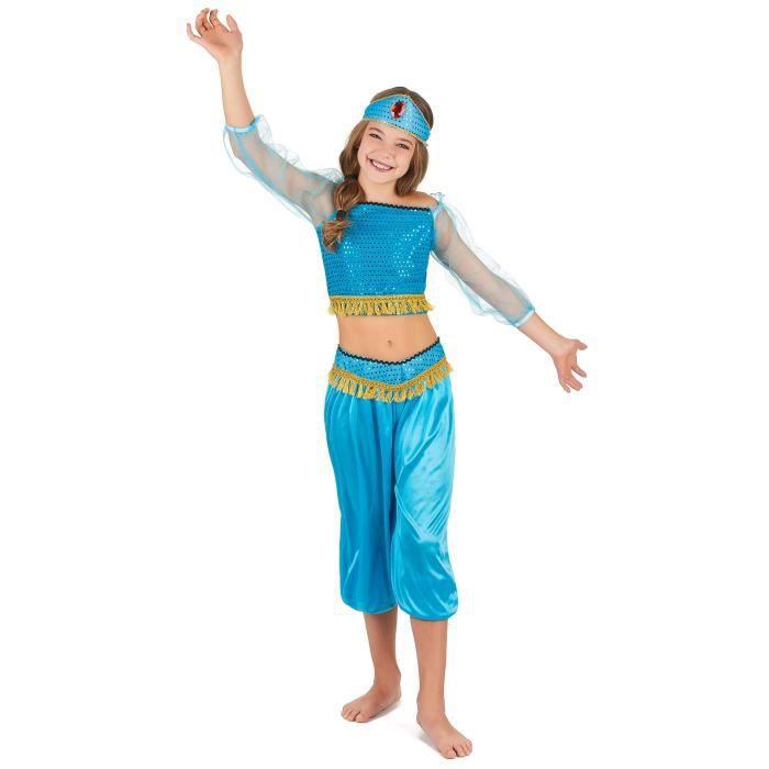 ... 4 6 ans- 74226 - Carnaval Halloween Enfant - 941. ACCESSOIRE DÉGUISEMENT  Déguisement Fille danseuse orientale Bleu ... b845718e4a4