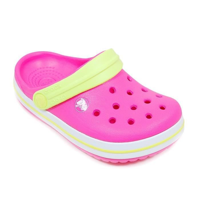 SABOT Crocs crocband kids rose