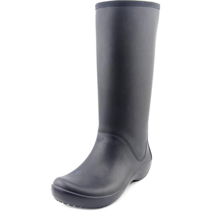 Crocs RainFloe Tall Boot Femmes Caoutchouc Botte de Pluie