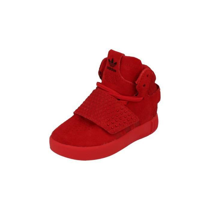 adidas tubular invader rouge