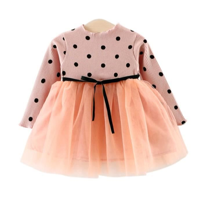 30842a26eed Robe bebe fille - Achat   Vente pas cher