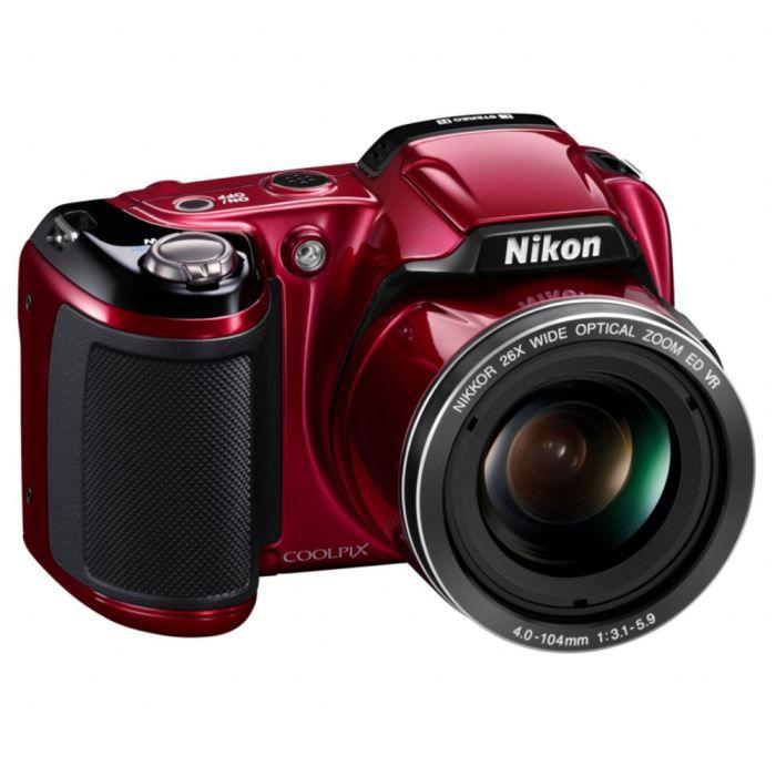 nikon coolpix l810 bridge rouge achat vente appareil photo compact cdiscount. Black Bedroom Furniture Sets. Home Design Ideas