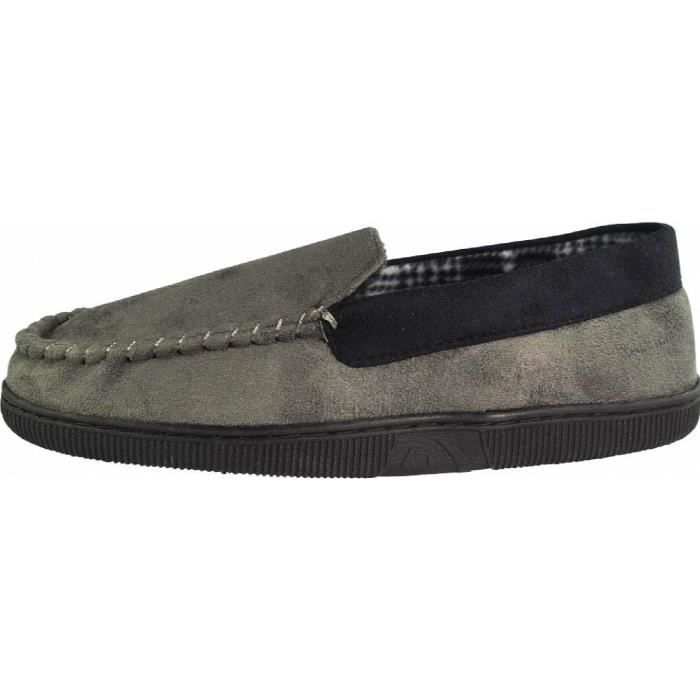 Perry Ellis Twin-stretch Slippers WN6T1 Taille-XL