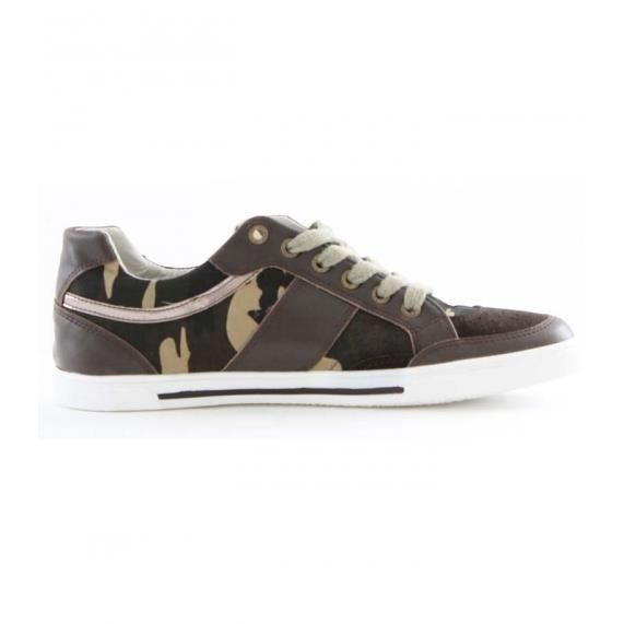 Basket Staka A5522 Vert Camouflage nMmoa