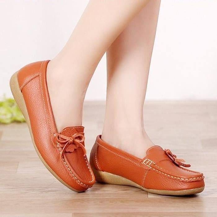 Femmes Flats 2017 nouvelles chaussures de base Plate-forme Femme Printemps Slip On Mocassins confortable Chaussures Femmes