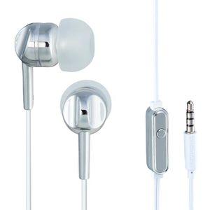 THOMSON EAR 3005 Ecouteurs stéréo intra-auriculaires avec microphone Argent