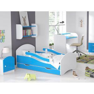 lit 70x160 achat vente lit 70x160 pas cher cdiscount. Black Bedroom Furniture Sets. Home Design Ideas