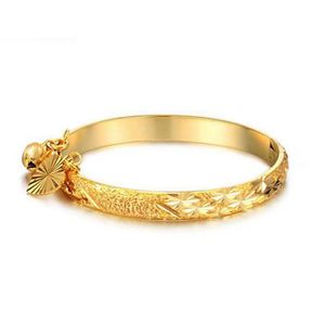 MAILLON DE BRACELET bracelet bébé plaqué or jaune 18 carats belle bijo