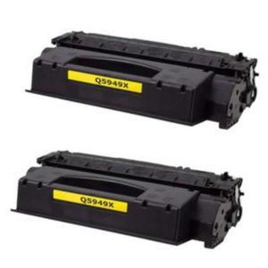 TONER PACK DE 2 TONER COMPATIBLE HP LaserJet 1320 NW – Q