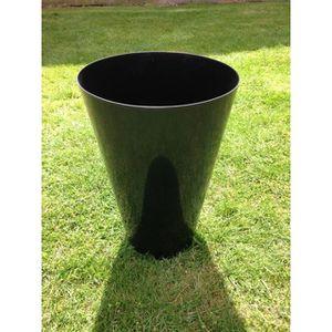 JARDINIÈRE - POT FLEUR  UK-Gardens Gloss Black Tall haut jardinière haut j