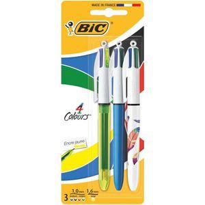 stylo 4 couleur metal achat vente stylo 4 couleur metal pas cher soldes d s le 10 janvier. Black Bedroom Furniture Sets. Home Design Ideas