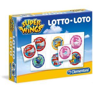TABLE JOUET D'ACTIVITÉ SUPER WINGS Loto Clementoni