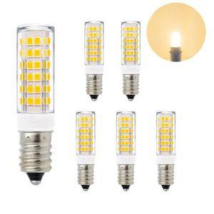Blanc Petit À Brillant Lampes Culot Economique Led E14 Ampoule 7w Pwk80nOX