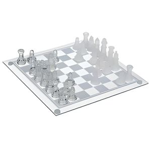 JEU SOCIÉTÉ - PLATEAU Jeux d echecs verre - echiquier dimension 35x35cm