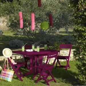 Petit salon de jardin & terrasse design Costa Spritz NARDI Bleu Ciel ...