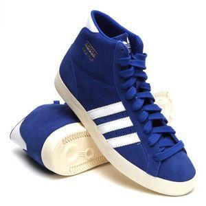 BASKET Baskets Adidas PROFI Montantes, Modèle Q23334 Bleu