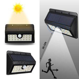 APPLIQUE EXTÉRIEURE 20 LED Applique Solaire Lumière Jardin éclairage P