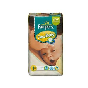 COUCHE Maxi Pack 172 Couches de Pampers New Baby Dry tail