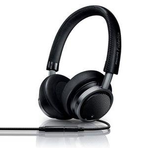 CASQUE - ÉCOUTEURS PHILIPS FIDELIO M1 noir - Casque audio avec micro