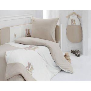 housse de couette lapin achat vente housse de couette lapin pas cher cdiscount. Black Bedroom Furniture Sets. Home Design Ideas