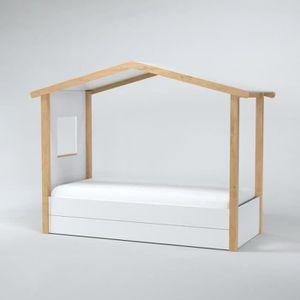 lit cabane achat vente lit cabane pas cher cdiscount. Black Bedroom Furniture Sets. Home Design Ideas