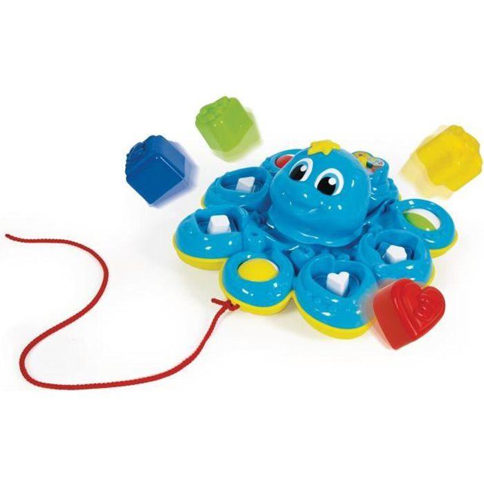 CLEMENTONI Baby - Pieuvre trieuse de formes - Jeu d'éveil