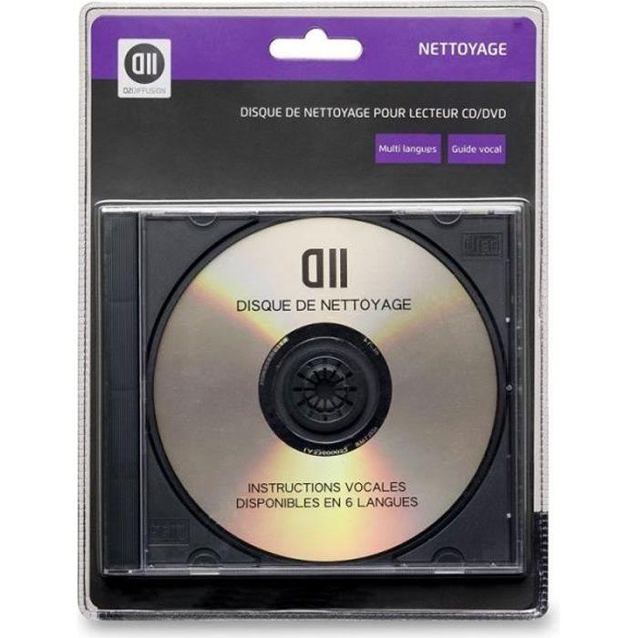 D2 Disque de nettoyage pour lecteur CD