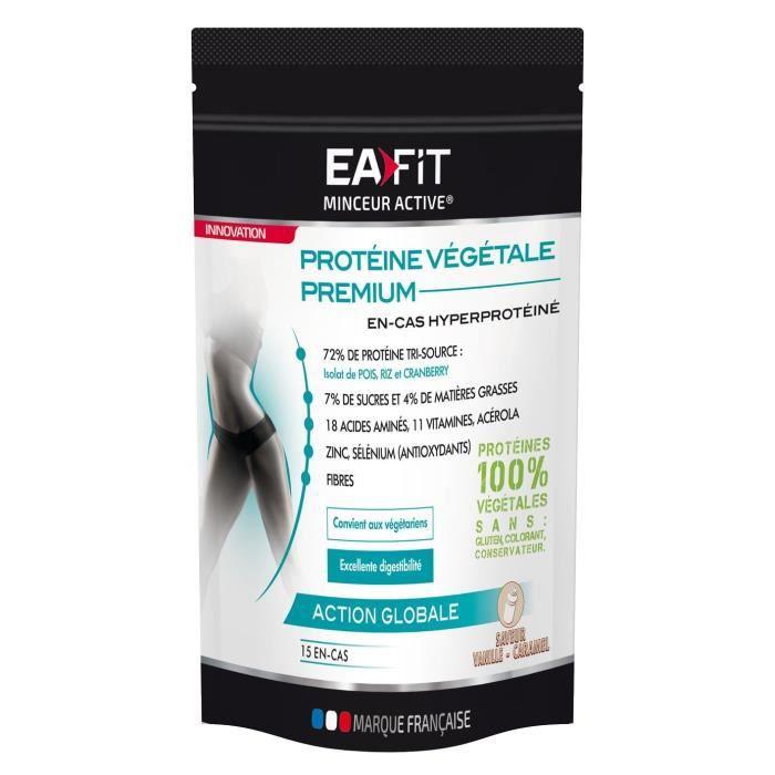 EAFIT Protéine Végétale Premium - Vanille / Caramel - 450 g