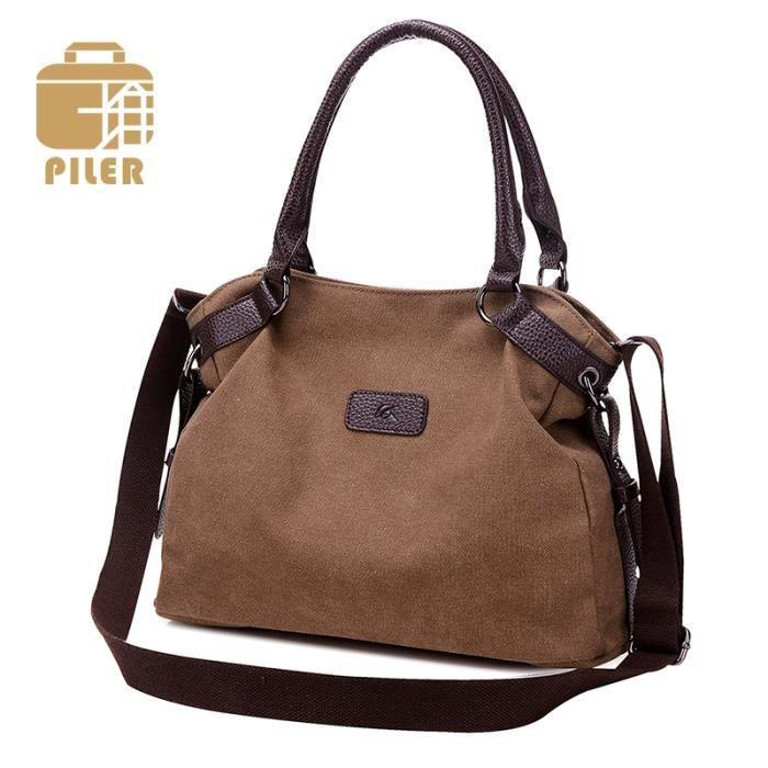 39f721ac496d sac à main Marques de luxe femmes Messenge grande capacité Designer Femmes  Sac en toile de